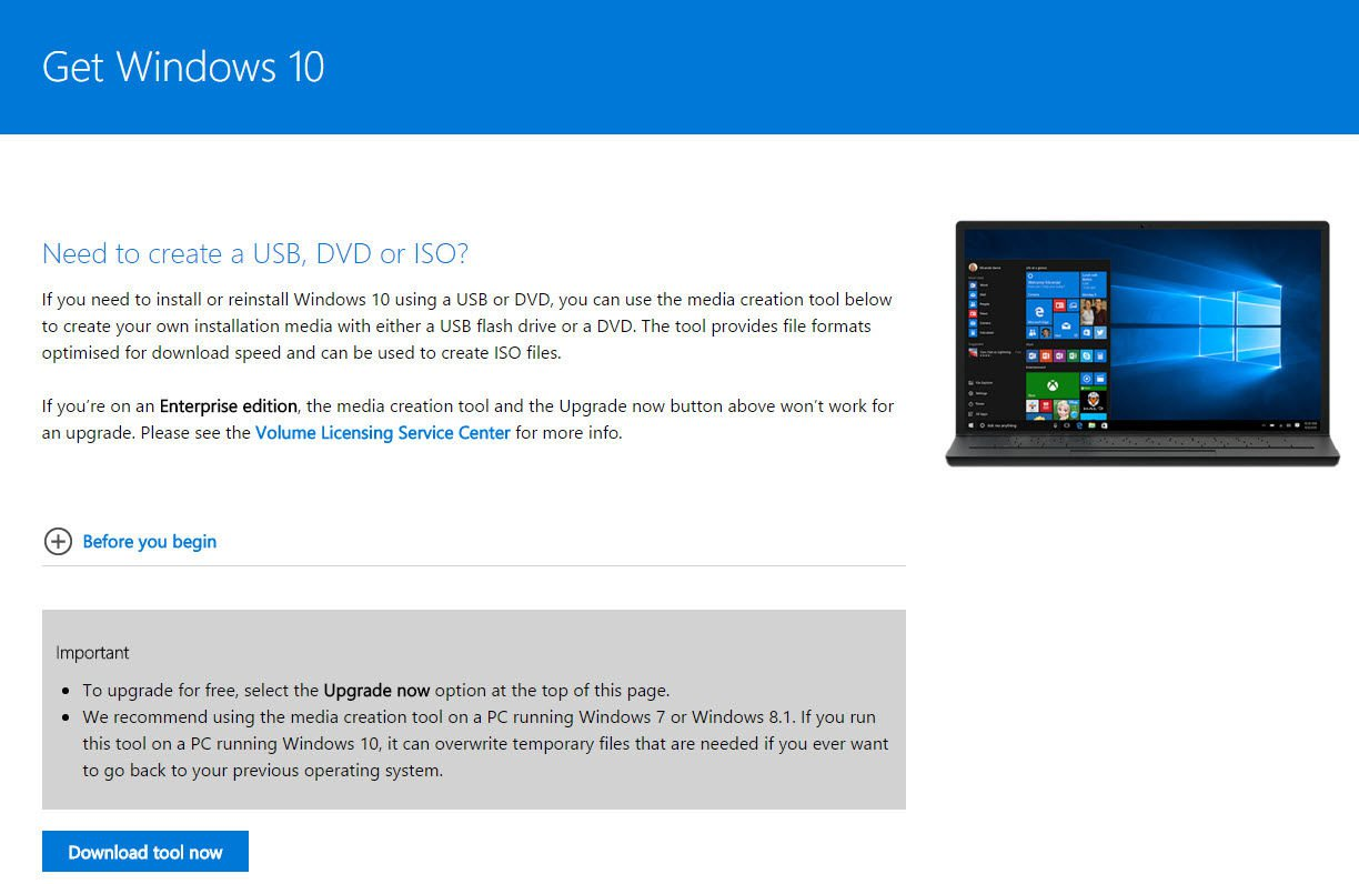 Get Windows 10: How to Upgrade