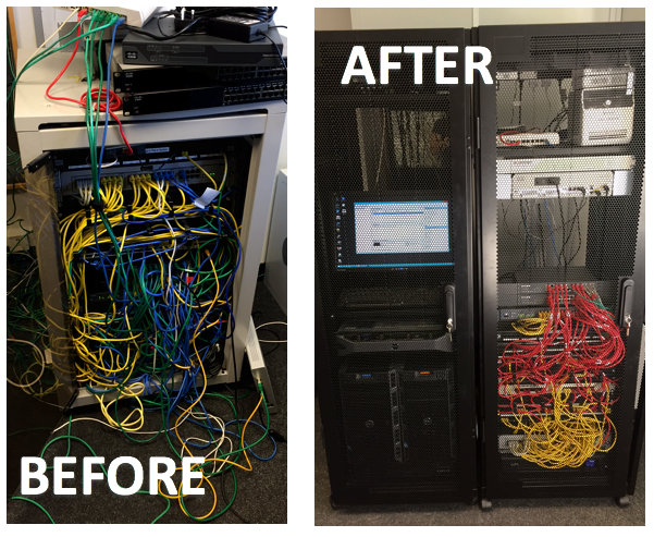 Sensational 5 Tips To Tame Your Office Cabling News Lineal It Support Wiring 101 Mecadwellnesstrialsorg