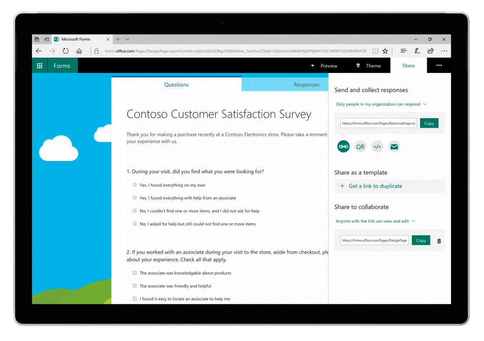 microsoft forms previews to business clients news lineal it support