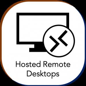 cloud hosted remote desktops