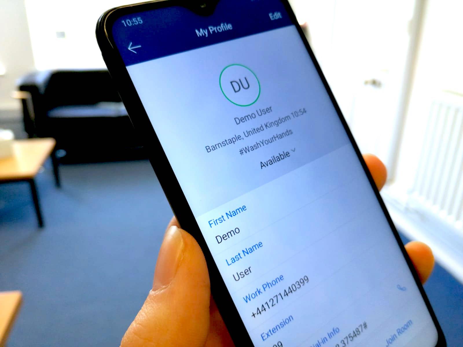 remote working gamma collaborate mobile