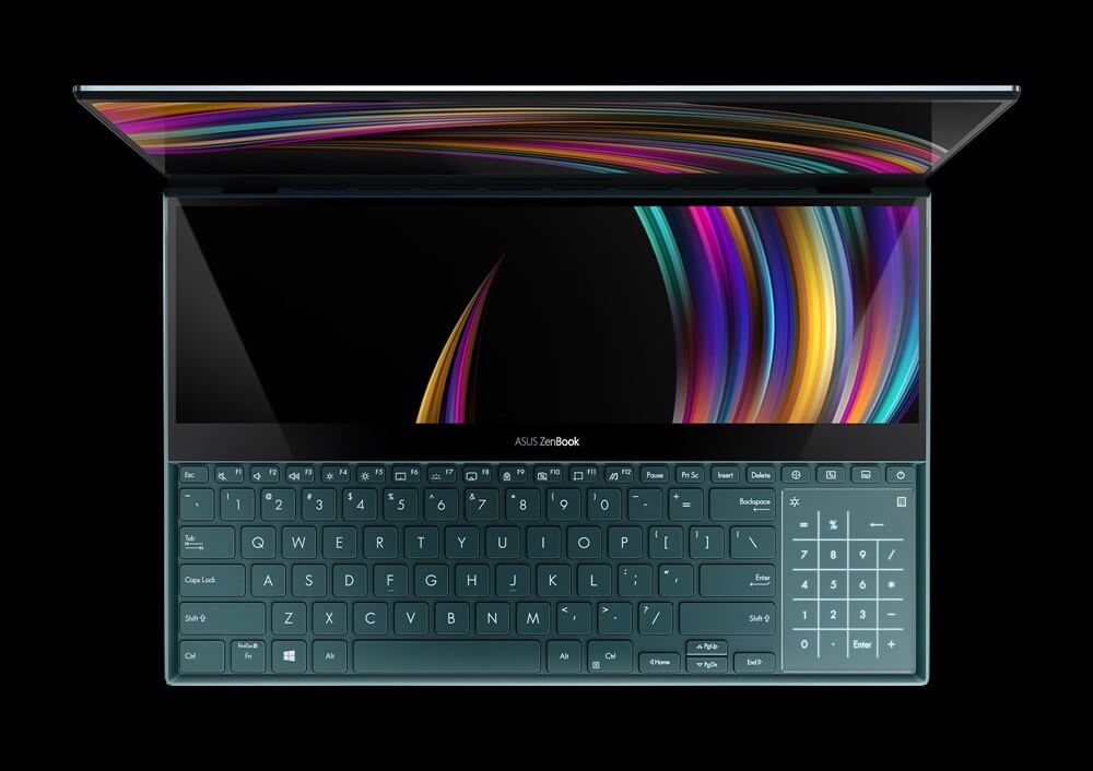 dual-screen laptop